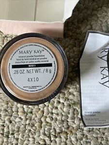 Mary Kay Mineral Powder Foundation ~ BEIGE 2 -  040989 • Opened