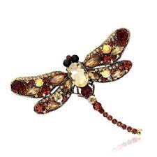 Shawl Brooch Austria Crystal Collar Pin Animal Brooch Dragonfly Brooch Pin