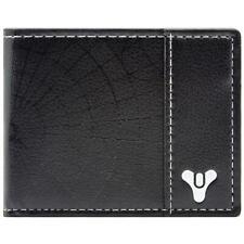Destiny Bi-fold Game Logo Coin and Card Wallet Black