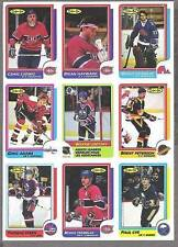1986-87 OPC Productiuon Proof 9-Panel,Oilers' Wayne Gretzky Assists Leader #259