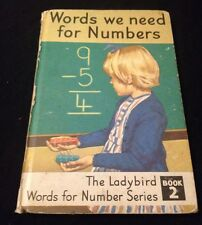 """Ladybird Book """" Words We Need For Numbers """" first Published 1966 Book 2"""