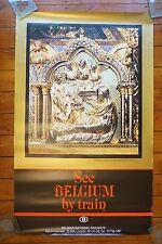Belgium National Railways Notre Dame Original Railway Poster