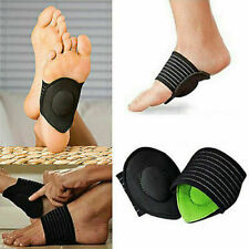 FOOT ARCH SUPPORT Plantar Cushion Fasciitis Aid Arches Heel Pain US Stock