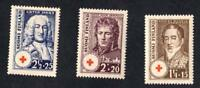 FINLANDE  N °: 186/188  -  RED CROSS -NEWS  - year 1936 -  CV : 9 €