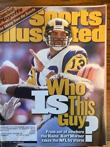 Sports Illustrated October 18, 1999 - Kurt Warner