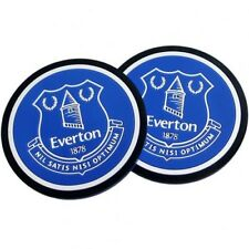Everton Football Club Crest Set of 2 Non Slip Silicone Drinks Coasters
