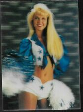 1993 Score #2 DORIE BRADDY 3-D Dallas Cowboys Cheerleader card. INSERT RARE