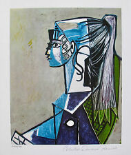 Pablo Picasso PORTRAIT OF SYLVETTE Estate Signed Limited Edition Art Giclee