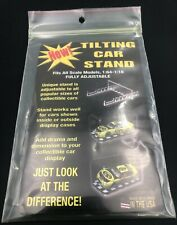 Diecast Car Memorabilia Tilting Car Stand Fits All Scales Holder Display