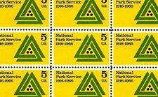 1966 - NATIONAL PARK SERVICE - #1314 Mint -MNH- Sheet of 50 Postage Stamps