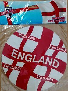 England Flag Round Car Magnet