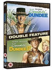 Crocodile Dundee 1 & 2 II DVD Set Paul Hogan R2 New