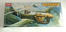 Academy P-40E Warhawk 1/72 Model Kit New in Sealed Box
