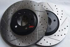 Fits FX35 FX45 Slotted Or Cross Drilled Rotors Akebono Pads Front