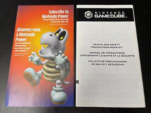 Mario Party 7 Nintendo Power Insert & Consumer Info Manual GameCube GC Dry Bones