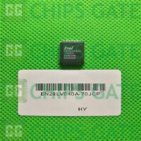 2PCS EN29LV040A-70JCP Encapsulation:PLCC-32,64 Megabit 4M x 16-bit CMOS 3.0