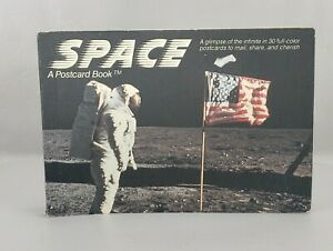 Space: A Postcard Book 1988 NASA New and unused postcards