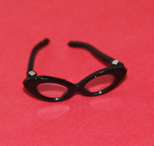 Vintage Barbie Reproduction #1622 STUDENT TEACHER Black HINGED Eye GLASSES
