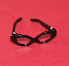 Vintage Barbie Reproduction #1622 STUDENT TEACHER Black HINGED Eye GLASSES
