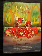 VUK le petit renard   !   affiche cinema animation