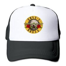 Guns N Roses Men's Trucker Logo Baseball Cap Hat Music Bands Snapback 912160037