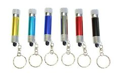 1 x Portable Mini LED Torch Key Ring Chain Christmas Birthday Party Stock Filler
