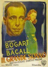 The Big Sleep (Italian) Il Grande Sonno 1946 Humphrey Bogart 12x18 Movie Poster