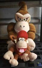 Donkey Kong Talking/Grunting Plush Doll Bensussen & Deutsch Nintendo WORKS!