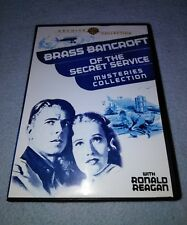 Brass Bancroft of the Secret Service Mysteries Collection DVD 2-Disc *RARE oop