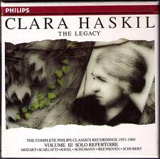 Clara HASKIL Legacy Vol.3 Beethoven Mozart Ravel Scarlatti Schubert Schumann 3CD