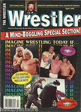 The Wrestler Wrestling Magazine April 1995 Hulk Hogan Ric Flair Undertaker