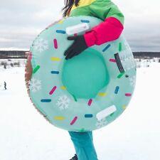 Skifahren Ring mit Griff PVC Schnee Schlitten Reifen Rohr für Kid Ski Pad Freien