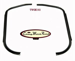 70-81 CAMARO TRUNK WEATHERSTRIP GUTTER PATCH PANEL 2PC