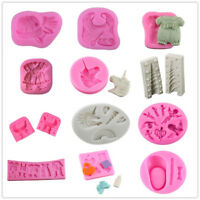 Virous Baby Shower Silicone Cake Fondant Chocolate Sugarcraft Mould Decorating