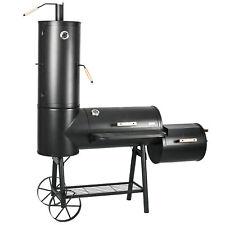 Smoker BBQ Grill Grillwagen Räucherofen Barbecue Standgrill Grilltonne B-Ware