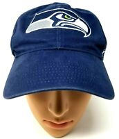 NFL 47 Brand Seattle Seahawks Football youth size baseball hat hook loop close