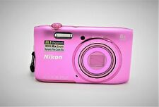 Nikon COOLPIX S3600 20.1MP Digital Camera - Pink - NO ACCESSORIES