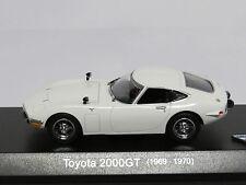 Toyota 2000GT White 1/43 (1969-1970) Kyosho No. 03039W