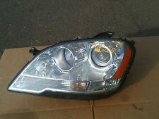 2009-2011 MERCEDES ML320 ML350 ML450 ML550 ML63 DRIVER LH HALOGEN HEADLIGHT OEM