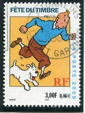 TIMBRE FRANCE OBLITERE N° 3303 FETE DU TIMBRE TINTIN / Photo non contractuelle