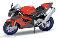 Aprilia RSV 1000R, Welly Motorrad Modell 1:18, Neu, OVP