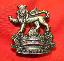 Pre WWI 6th DUKE OF CONNAUGHT'S Collar Badge C.13. (Royal Cdn Hussars)