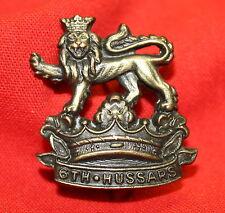 Pre WWI 6th DUKE OF CONNAUGHT'S Collar Badge C.13. (Royal Cdn Hussars)