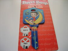 """Betty Boop """"Out of This World"""" Key Kwikset KW1 House Key Blank / New"""