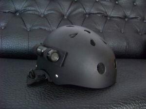 NEW Mini Fireman Water Resistant Sport Metal Helmet Camera Bullet Cam