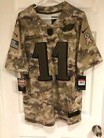 Carson Wentz Philadelphia Eagles Mens Size L/XL/XXL/3XL Salute To Service jersey