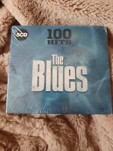 100 HITS THE BLUES – V/A 5CDs (NEW/SEALED) John Lee Hooker Muddy Waters