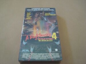 A NIGHTMARE ON ELM STREET PART 4 - DREAM MASTER  VHS TAPE  - NTSC -  NEW /SEALED