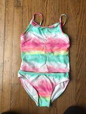 Children's Place Girl's 2 Piece Swim Suit Tankini L 10/12