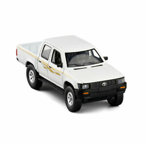 Toyota Hilux Pickup Truck 1:32 Model Car Diecast Gift Toy Vehicle Kids White